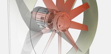 LLDKA Ventilador de Techo Potente Ventilador Extractor de Aire Escape de Alto Rendimiento Extractor de Aire extractores de Techo Integrado 600 600mm