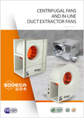 CENTRIFUGAL FANS IN-LINE DUCT EXTRACTORS