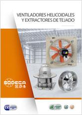 VENTILADORES HELICOIDALES Y EXTRACTORES DE TEJADO