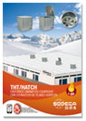 THT/HATCH 400º/2h. BOXED ROOF FAN WITH AUTOMATED TOP COVER