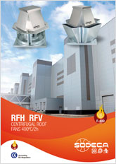 CENTRIFUGAL ROOF  FANS 400ºC/2h