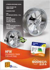 GALVANISED FINISH TUBULAR FANS