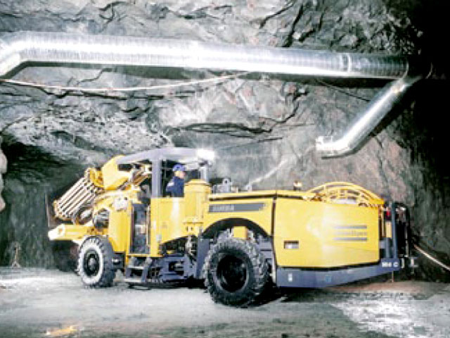 Mine Ventilation Sierra Gorda